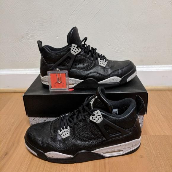 Nike Air Jordan 4 Oreo - Size 13 a8fd87dc0